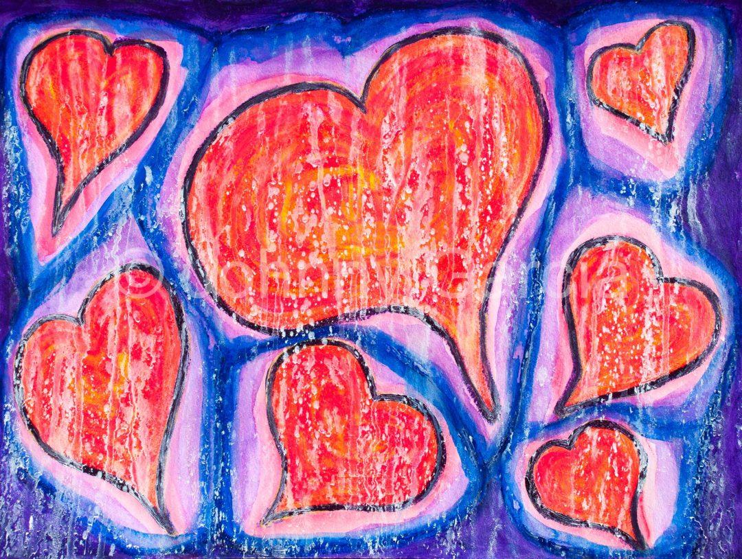 corazones forman uno